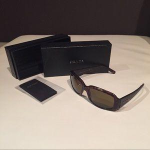 Authentic Prada Sunglasses - Tortoise Frames